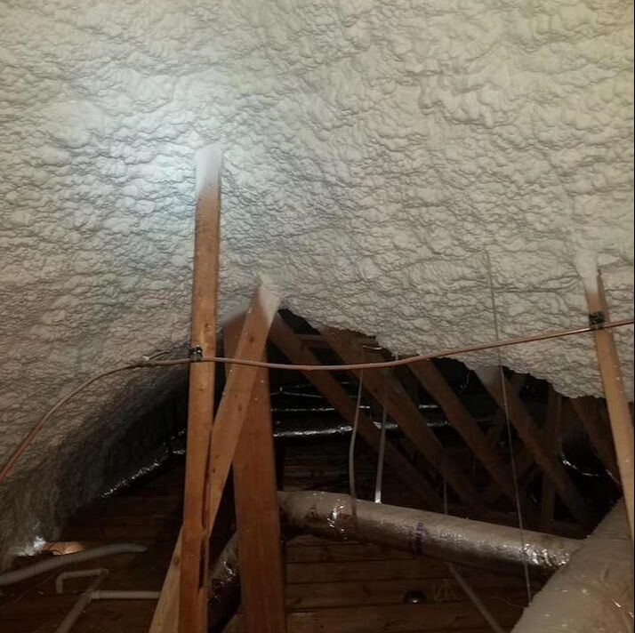 Foam Attic Insulation Durham NC