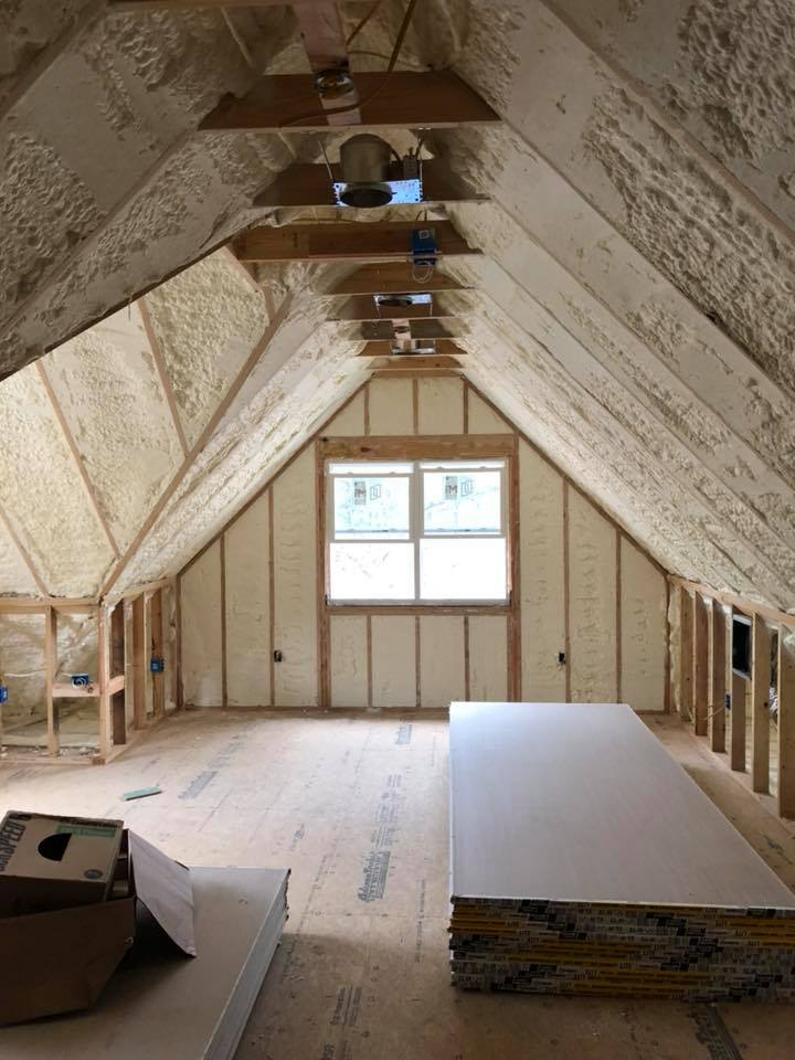 Spray Foam Attic Insulation Durham NC
